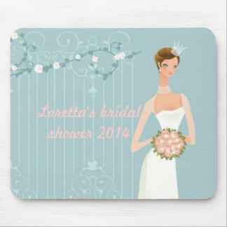 Bridal shower favor idea mouse pads