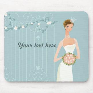 Bridal shower favor idea mouse pad
