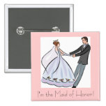 Bridal Shower Favour-Maid of Honour Pins