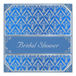 Bridal Shower--Fleur de Lis Card