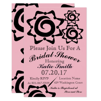 Bridal Shower Floral Invitation