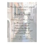 Bridal Shower for Venetian Theme Wedding Personalized Invites