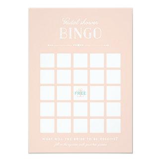 Bridal Shower Game - Bingo Card