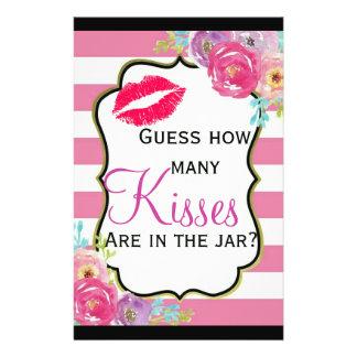 Bridal Shower Game Flyer