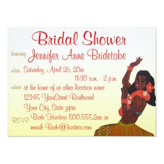 Bridal Shower Hawaii Luau Theme Card