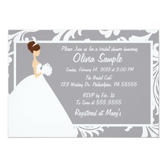 Bridal Shower Invitation Floral