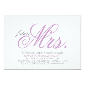 Bridal Shower Invitation | future Mrs.
