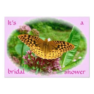 Bridal Shower Invitation Great Spangled Fritillary