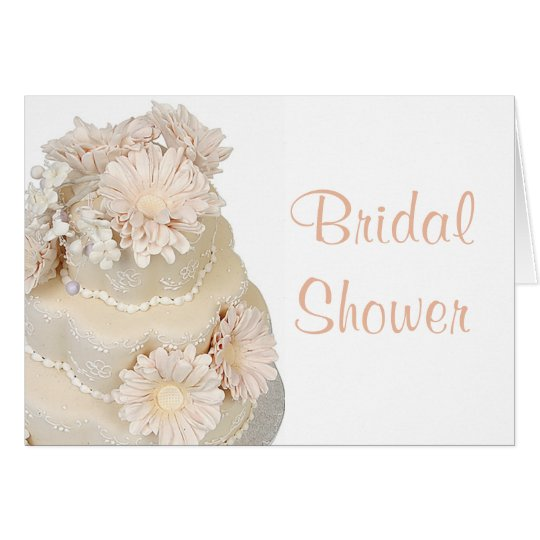 Bridal Shower invitation Note Card