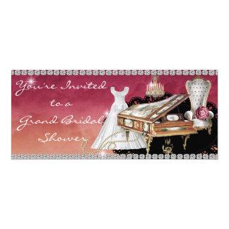 Bridal Shower Invitation PIANO Diamond