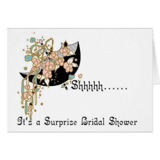 Bridal Shower Invitation - Surprise! Greeting Card