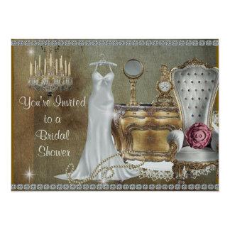 BRIDAL SHOWER INVITATION VINTAGE Wallpaper