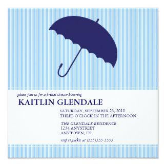 Bridal Shower Invitation with Umbrella