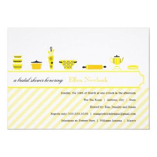 Bridal Shower Invitations  |  Yellow