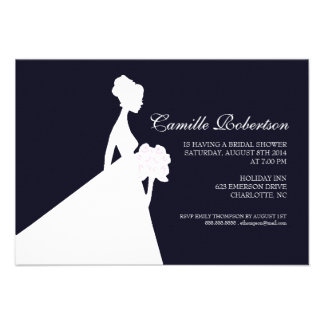 Bridal Shower Invite Bridal Shower dblue2