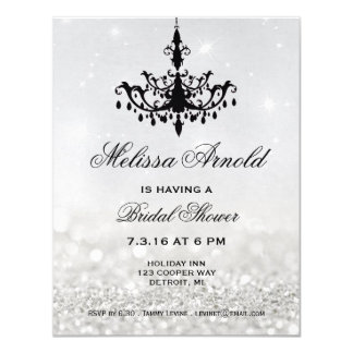 Bridal Shower Invite | Chandelier