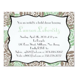 Bridal shower invite for lauren