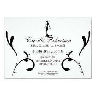 Bridal Shower Invite   Front & Center