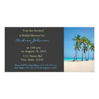 Bridal Shower Invite Picture Card