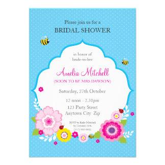 BRIDAL SHOWER INVITES garden flowers 4