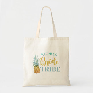 Bridal Shower Pineapple Bride Tote Bag Gift Item