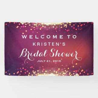 Bridal Shower Shimmer Gold Glitter Sparkles