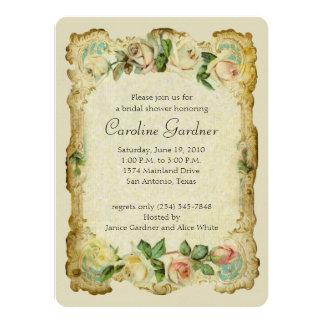 Bridal Shower Vintage Frame Card