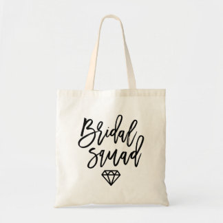 Bridal Squad Diamond Tote Bag