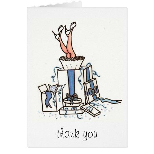 Bridal Thank You Card