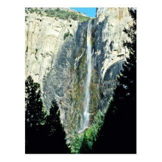 Bridal Veil Falls - Yosemite National Park Postcard