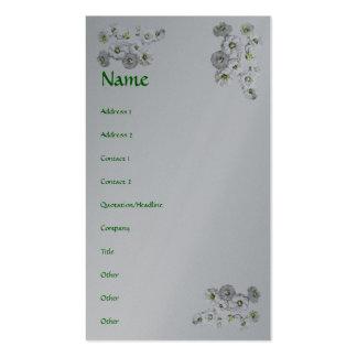 Bridal Wreath Spirea Flowers Business Card