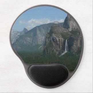 Bridalveil Falls and Half Dome at Yosemite Gel Mouse Pad