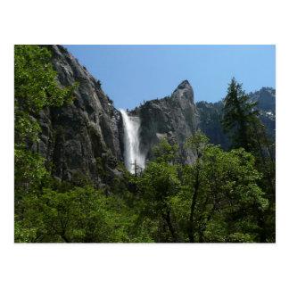 Bridalveil Falls at Yosemite National Park Postcard