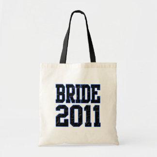 Bride 2011 tote bag