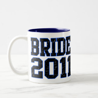 Bride 2011 Two-Tone coffee mug
