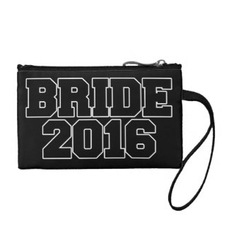 Bride 2016 coin purses