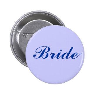 Bride 6 Cm Round Badge