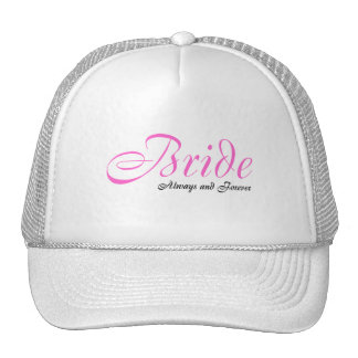 Bride (Always and Forever) Mesh Hat