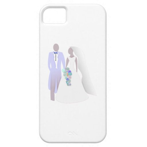 Bride and Groom iPhone 5 Case