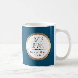 Bride and Groom Custom Coffee Coffee Mug
