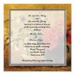 Bride and groom parents'  invitation, van Gogh