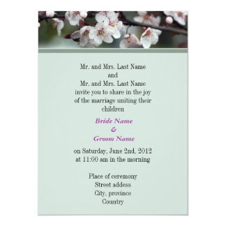 Bride and Groom parents, wedding invitation Announcements