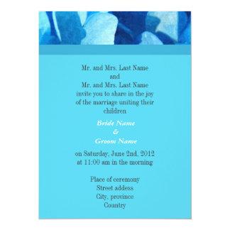 Bride and groom parents'  wedding invitation custom invites