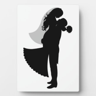 BRIDE AND GROOM PLAQUE