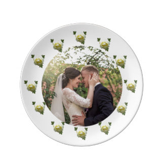 Bride and Groom Plate