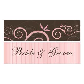 Bride and Groom Salon Business Card Design