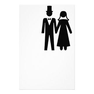 Bride and Groom Custom Stationery