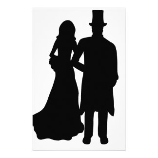 Bride and Groom Stationery Paper