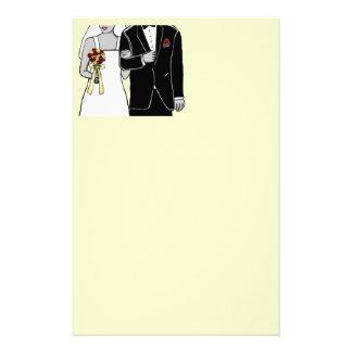 Bride and Groom Stationery Design
