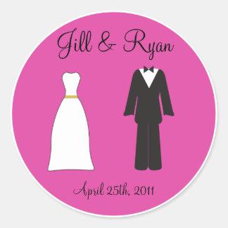 Bride and Groom Sticker